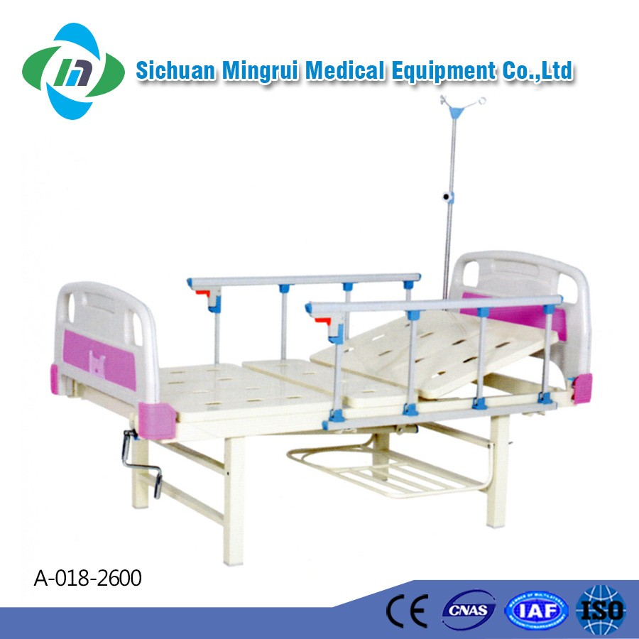 China manufacturer custom portable metal adjustable cheap children hospital iron bed