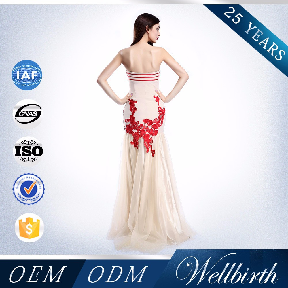 China OEM Classy Sexy Unique Designs Celebrity Beautiful Evening Dress