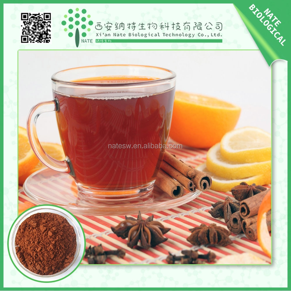 GMP Factory Supply Best price High quality Black Tea Extract 30% Polyphenol