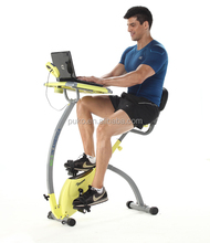 indoor fitness exercise bike cycle magnetic exercise bike with laptop desk
