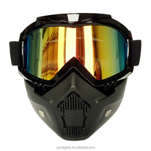 Hot Sales Dual Use Motocross goggle Mask Motorcycle Glasses Cycling For Vintage Helmet CG06