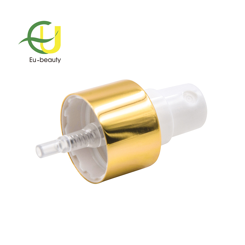 24/410 gold aluminum fine mist sprayer
