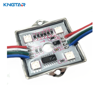 Full color ws2801 ws2811 4 led pixel module