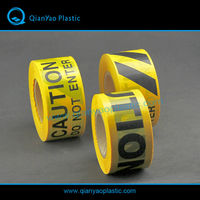 PE traffic barrier tape, caution tape, warning tape