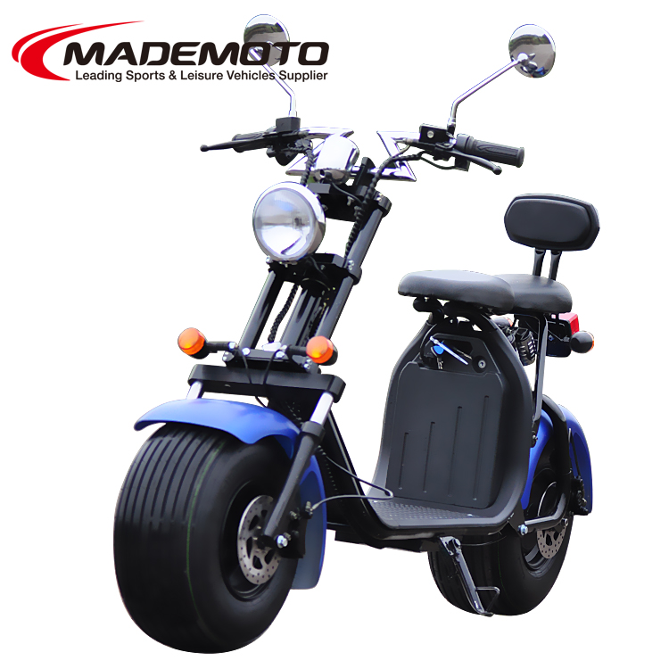 EEC/EPA DOT Approved Gas Motor Scooter Equipped with 4 Stoke 250cc Engine WZMS2505EEC/EPA
