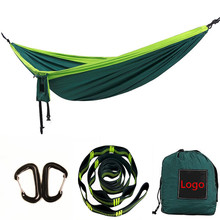 Chinese factory Wholesale lightweight Parachute Nylon Outdoor Hammock for Camping