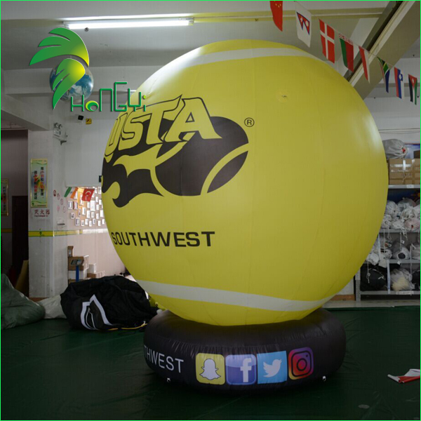 advertising helium balloon with base (2)
