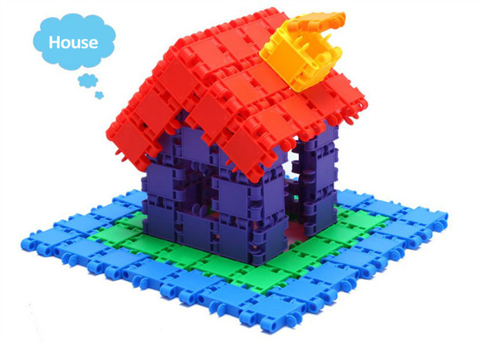 Educational Building Blocks Plastic Bricks Children Toy Mind Puzzle 3d Wooden Animals Puzzles