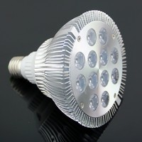 660nm 460nm 612nm led grow light 12w 36w led plant grow bulb