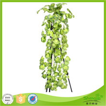Hot sale home decor outdoor artificial silk ivy leaf garland plants vines
