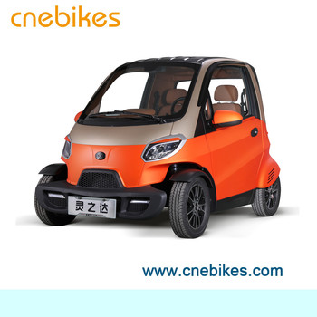 EEC approved 2 seats 4 wheels electric mini car remote controlled