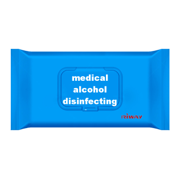 medical alcohol disinfecting wipes/custom disinfecting wipes