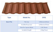 Colored Sand Aluminum Zinc Plate tile span roofing at factory/Stone coated roof sheet/Roof tile shingles