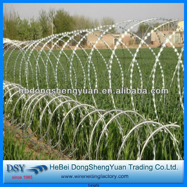 search all supplier concertina babed wire fence in anping factory