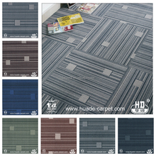 Printed Office Floor Waterproof Carpet Tiles for Commercial
