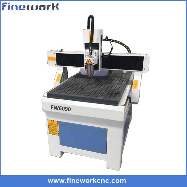 Factory supply FW mini band saw metal qili 6090 cnc router