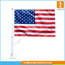Factory wholesale cheap union jack custom car window flag