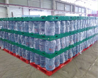 New product !Plastic pallets for 5 gallons mineral water bottles transferring