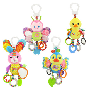 Hanging Newborn Baby Rattles Toys Ringing Teether Sets Plush Gift For Infant M8053101