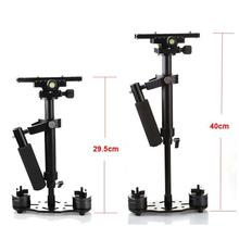 S40 40cm Professional Handheld Stabilizer Steadicam for Camcorder Digital Camera Video for Canon for Nikon DSLR Mini Steadycam