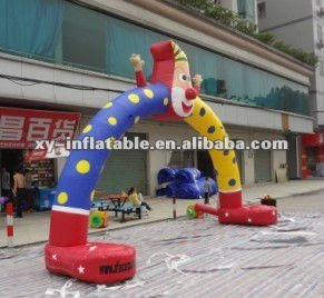 2013 clown hot sale advertising inflatable arch