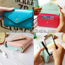 For Samung Cases,For Iphone5 5S Phone Case Korean cute leather wallet case for phone