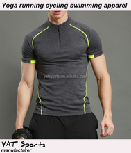 Fitness tranining Wholesale Cheap mens gym wear dri fit t shirt