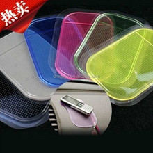 Yiwu manufacture thick hot sell car sticky silicone auto non-slip pad for mobile