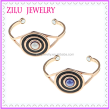 ZiLu Latest Design Evil Eye Bracelet Cuff Bangle with Magnets Fashion Jewelry Wholesale