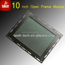 10 inch high brightness with customizable and changeable metal open frame LED digital signage monitor
