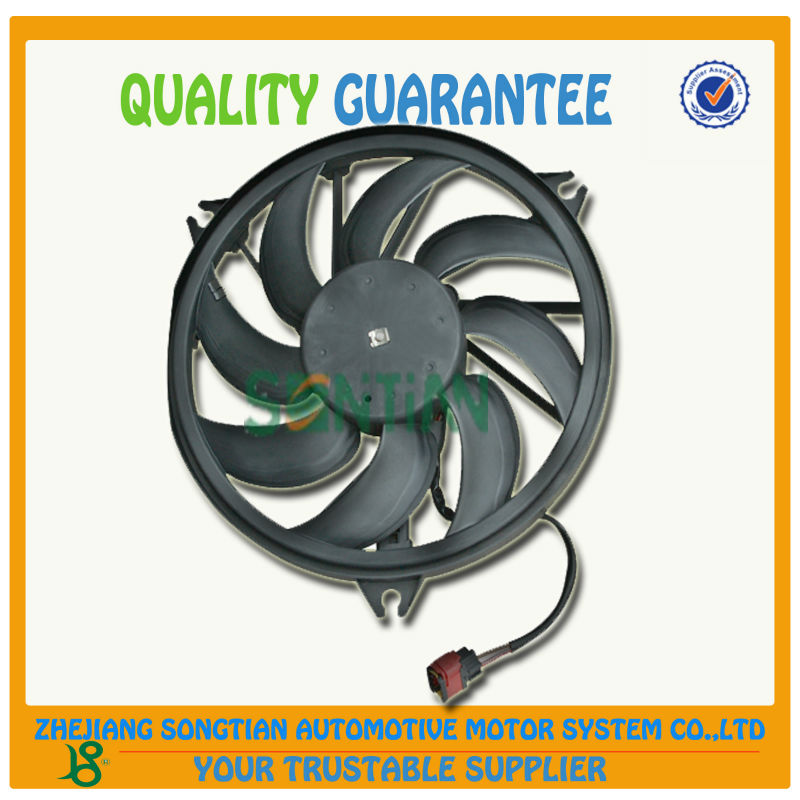 AUTO PARTS 1253.C5 12V RADIATOR COOLING FAN /condenser fan FOR PEUGEOT 206 made in China