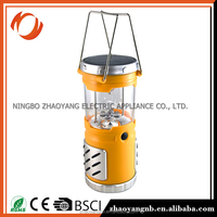 Camping equipments portable work site rechargeable camping lantern