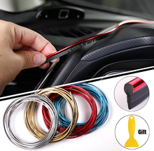5M Car Styling Interior Decoration Strips Car Interior Accessories