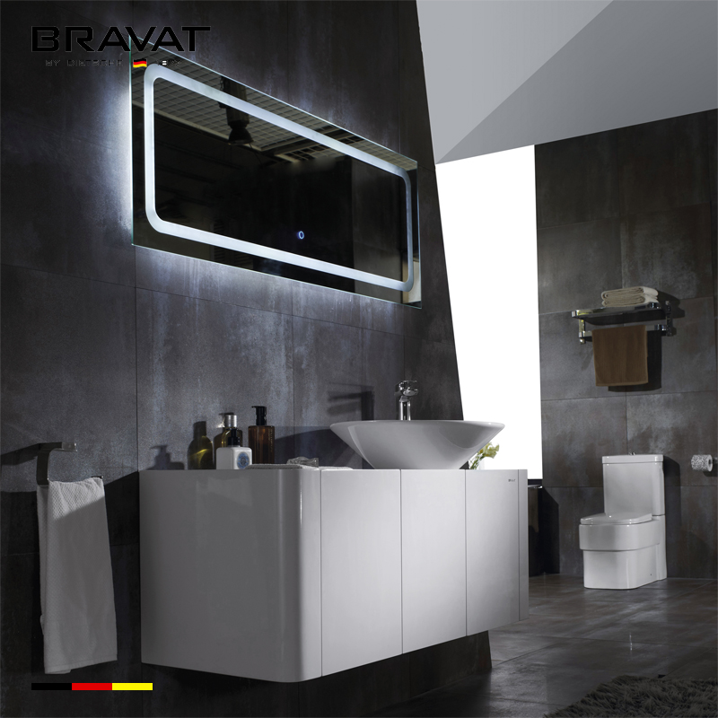 Modern luxurious bathroom for rv bathroom cabinet V12106W-W