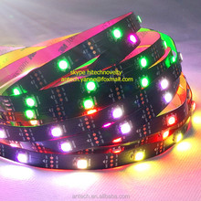 144pixel rgb strip ws2812 ic led programmable addressable digital rgb strip light 2812 2811 2801 5050 rgb led strip ws2812b