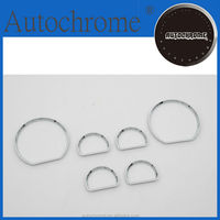 Factory price car auto exterior car accessory dash board chrome gauge ring bezel for F ord Mustang