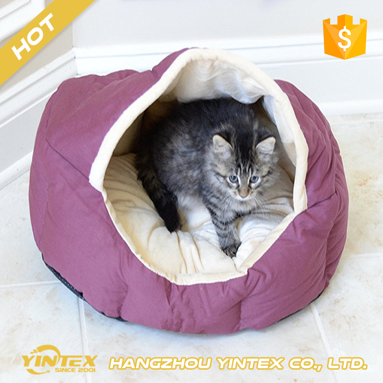 Sample Available comfortable hypoallergenic easy care washable luxury pet dog bed for large dogs or puppy