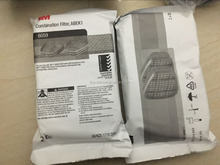 3M mask double cartridge filter 6057 6059 6051 6035 use with 3m half / full face mask