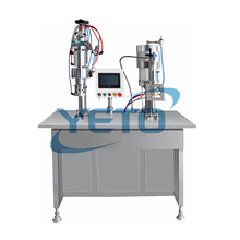 PU Foam Pesticide Insecticide Bottled extrusion line paint aerosol filling machine price