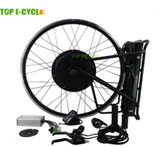 48V 500Watt 20'' - 28'' 700C wholesale price brushless wheel motor electric bike conversion kit for bikes