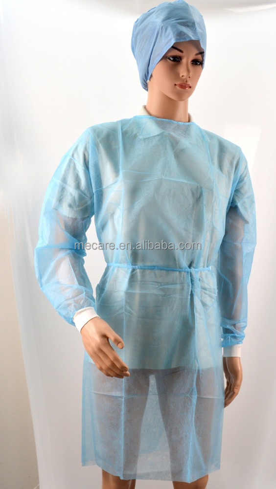 Disposable Non woven Medical Hosptail Surgical Scrub Suits