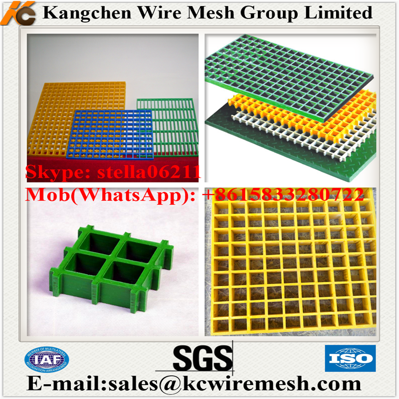 Factory!!!!!!! Kangchen Anti slip Car wash grate floor/frp grilling/gully grating