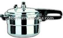 polished pressure cooker