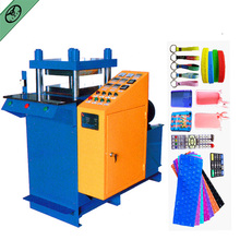 solid silicone embossing machines for custom shape silicone bracelets