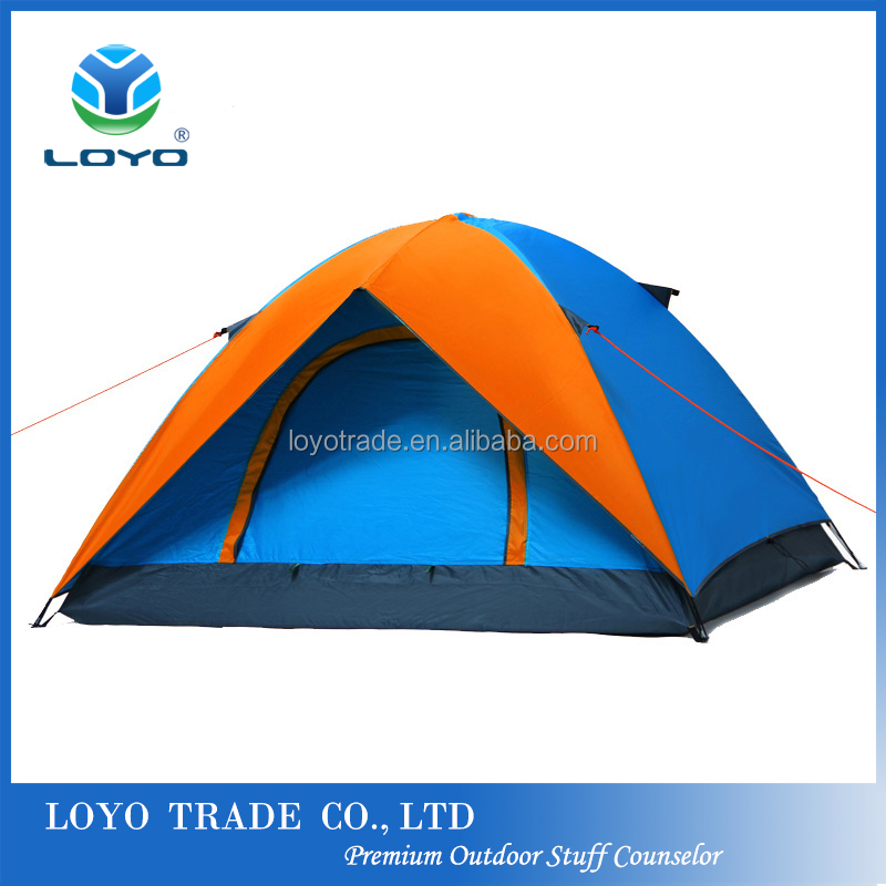 Travelling/Camping/Outdoor Dome Tent Double Layer 3-4 person waterproof Folding TENT