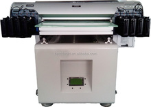 Commercial used A2 size cloth flatbed printer/ cloth digital printer/uv flatbed printer for sale