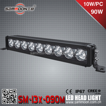 Single row LED Light Bar-SM-13X-090M cree chip,New product 2016 90w led off road light bar