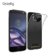 For Moto Z Clear Case Soft TPU Transparent Slim Fit Protector Case Armor Phone Case for Moto z