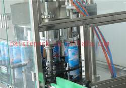 Trade assurance supplier aerosol fillers in uae aluminum bottle spray rotary filler machine with PLC controlled