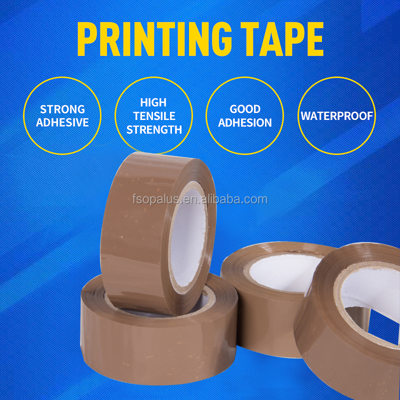 2 mil bopp industrial carton sealing tapes,adhesive side adhesive tape yiwu <strong>agent</strong>
